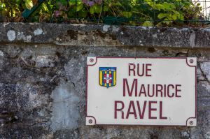 Panneau rue M. Ravel 0859